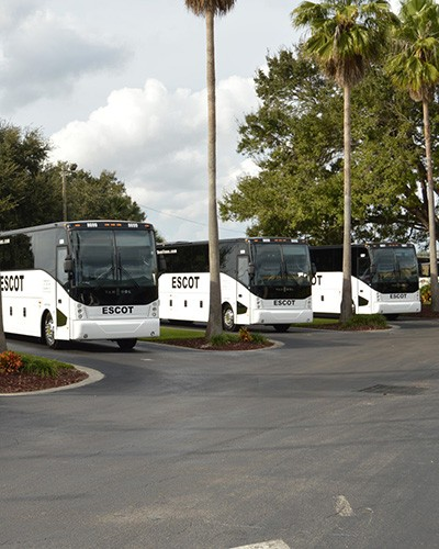 Charter Bus Rental by Escot Bus Lines