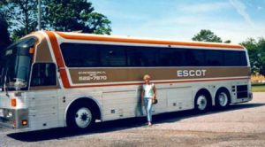 ESCOT Bus Lines 1893 Charter Coach
